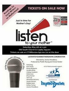 Giving motherhood a microphone